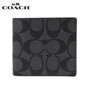 NWT Coach Men's COIN CASE IN SIGNATURE Wallet